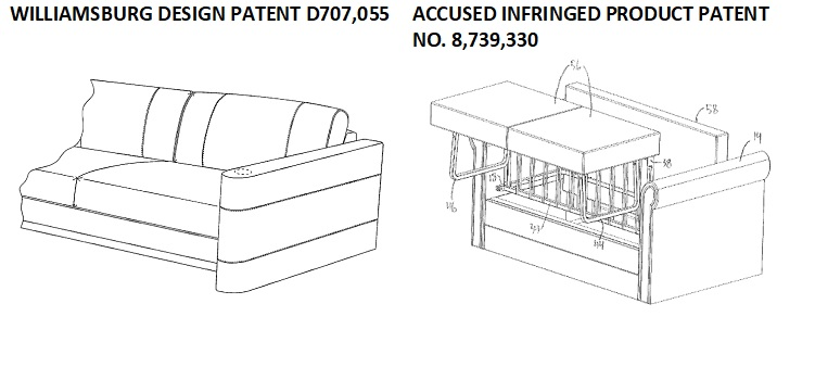 Williamsburg Furniture Claims Lippert Patent is Invalid and/or Unenforceable